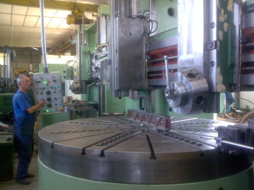 2000mm Table VTL