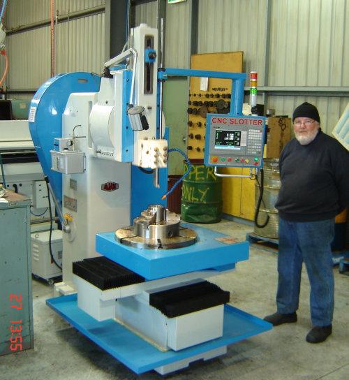 CNC Slotting