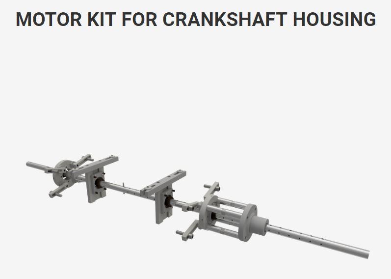 Motor Kit for Crankshaft Housing